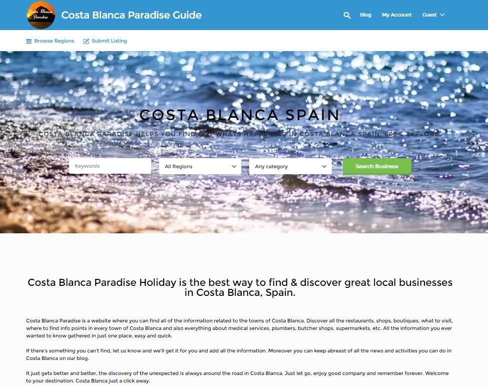Costa Blanca Paradise