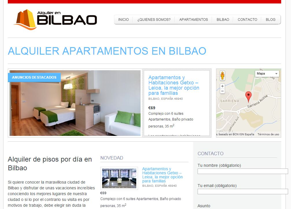 Alquiler en Bilbao